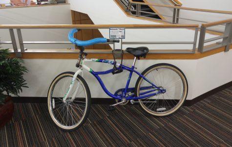 Students invited to use backwards bike