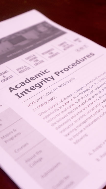 AACC%E2%80%99s+codes+and+procedures+allow+more+leeway+for+professors+to+handle+cases+of+academic+dishonesty.%0A