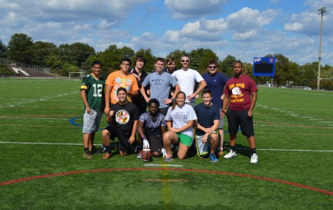 AACC's Athletics Club having fun