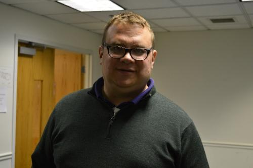 Rich Otten is one of the adjunct professors looking to get paid office hours.