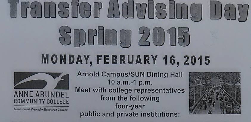 Transfer Advising Day Is Coming!