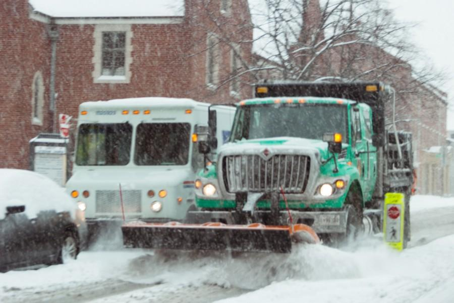 Snow Storm Stops Sports