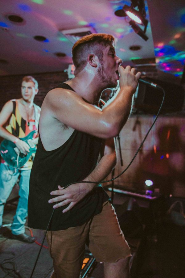 Nick DePietro of reggae- rock band the Vibesmen will perform.