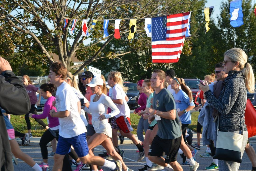 The Al Cantello Jr. Memorial Run kicks off with a full cast of participants.