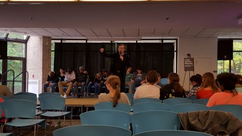 Cards Against Hypnosis leaving students in awe