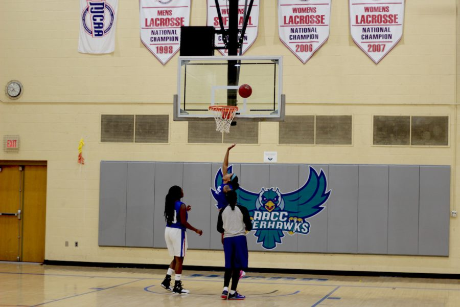 The Women's Basketball team prepares for the season ahead.