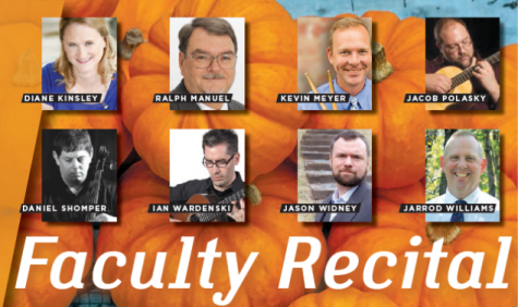 AACC's fall faculty recital flourishes