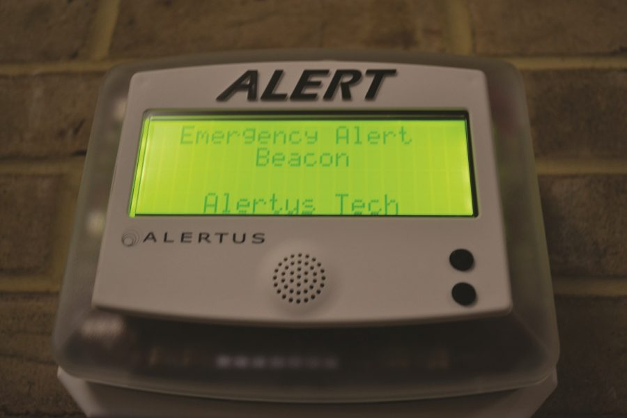 Alarm system rings on campus