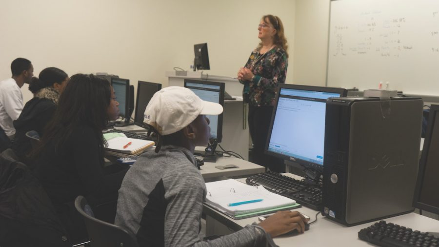 The MAT 013 and MAT 135 combination course allows a professor to teach the two classes in the same semester in an accelerated fashion.