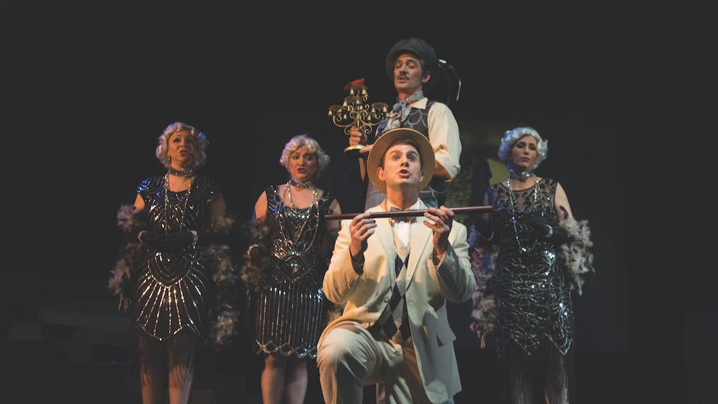 The Magic Flute production combines a narrative story with spoken word and operatic music written by Wolfgang Amadeus Mozart.