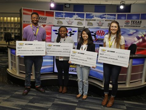 Student earns $10K in NASCAR's competition