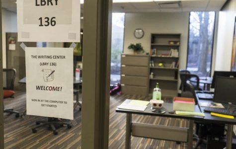 Writing center moves, upgrades to big space