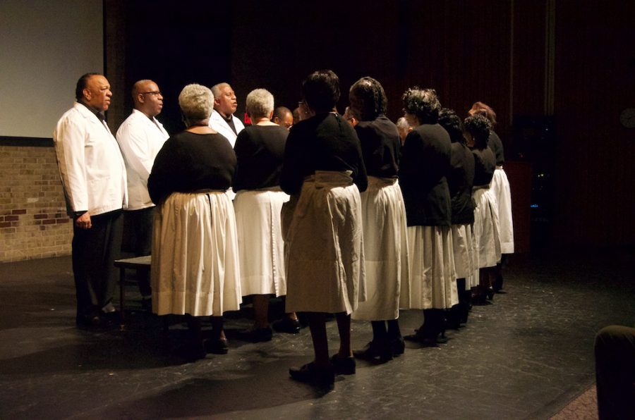 The Singing and Praying Band comes to AACC to sing and teach its old traditions.