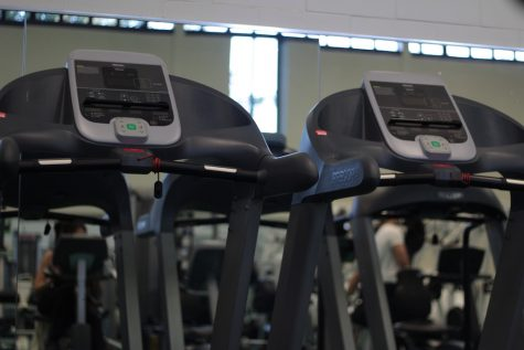 AACC's fitness center is available for use during select hours in the day.