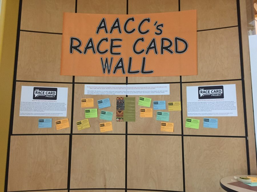 Race Card Project displays campus voice