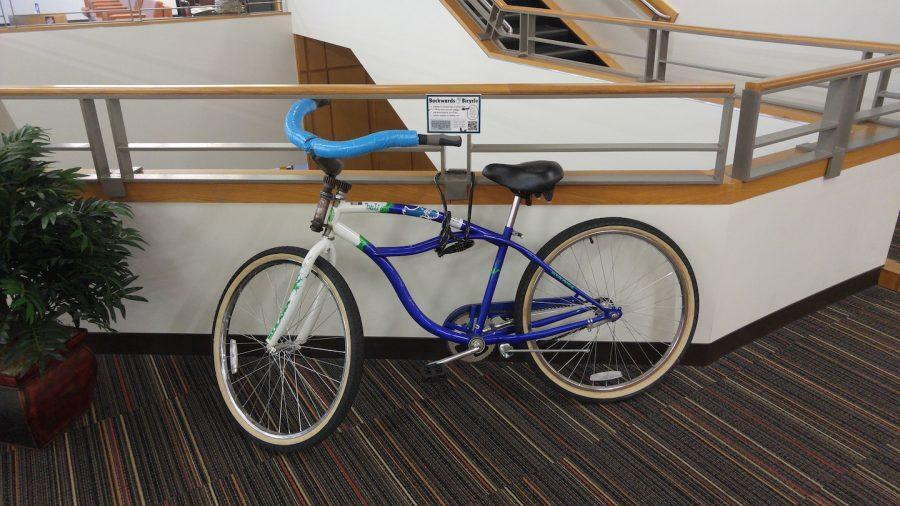 Students+invited+to+use+backwards+bike