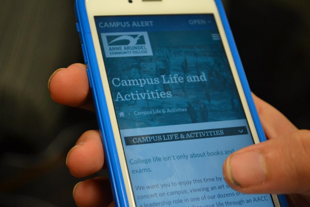 AACC's relaunched website allows users improved access on mobile devices.
