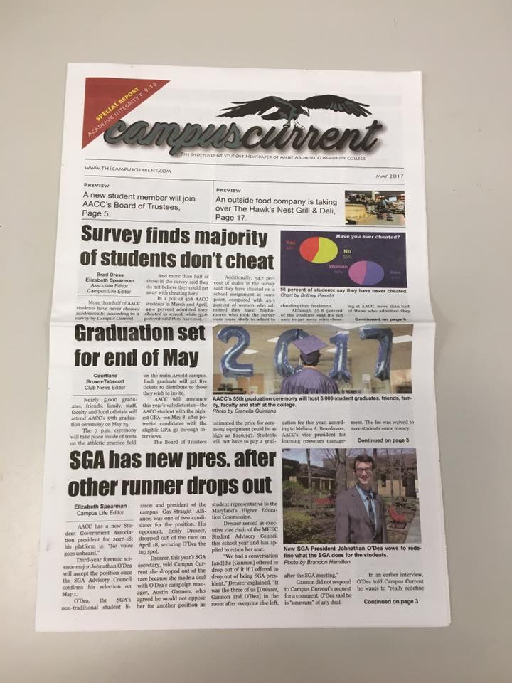 Campus Current publishes first 20-page paper