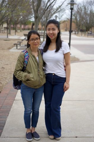 Foreign students meet through college club