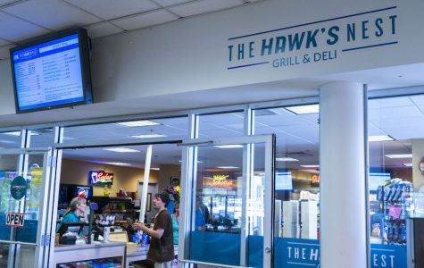 AACC will replace the Hawk's Nest Grill & Deli by June 30 with a new company outside of the college.