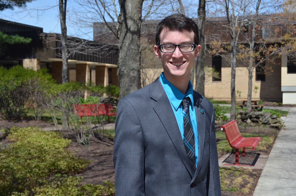 New SGA President Johnathan O'Dea vows to redefine what the SGA does for the students.