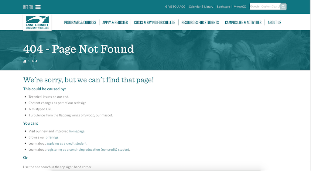 The newly designed AACC website receives mixed reviews from students in regard to design and information availability.