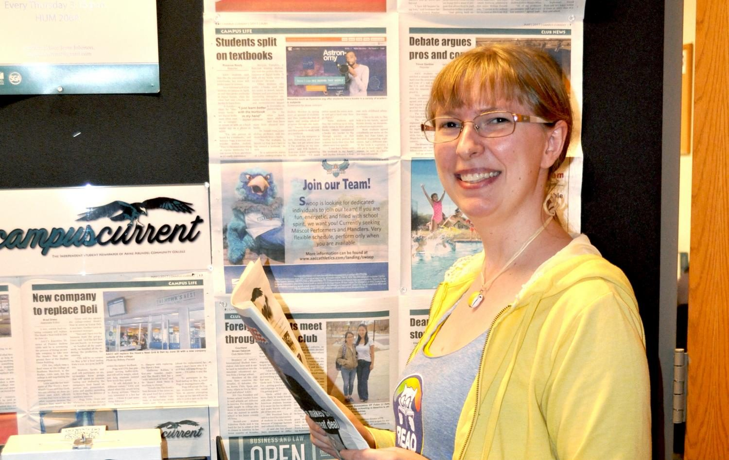 Campus Current is looking for more student opinions, says Editor-in-Chief Roxanne Ready