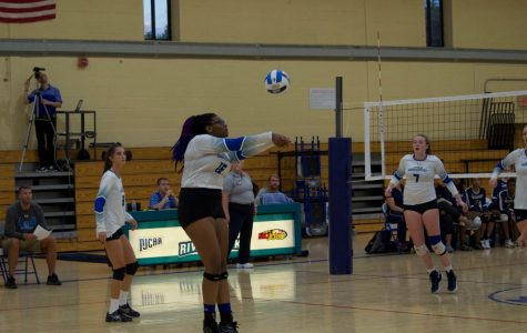 Volleyball sets up for upcoming challenges