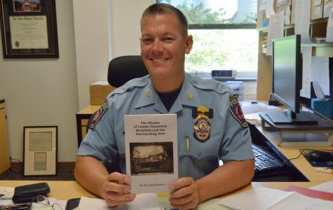 Police Chief Sean Kapfhammer enjoys writing about the paranormal.