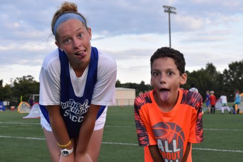 Student athletes reach out to community kids