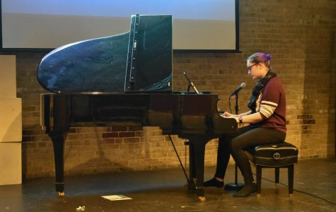 Students displayed their talents at Amaranth's open mic night on Oct. 18.