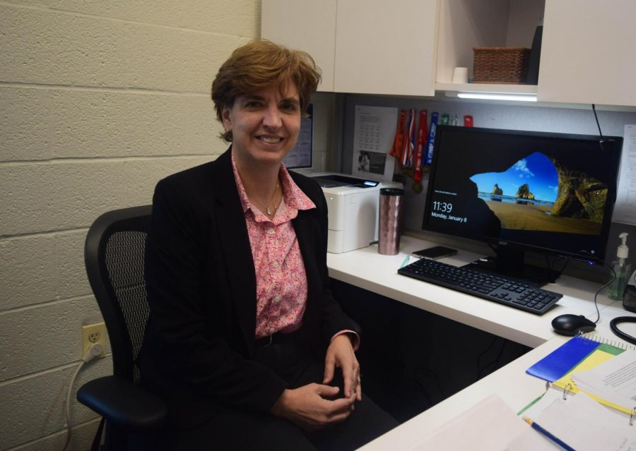 Marjorie Rawhouser, the new assistant dean of liberal arts, oversees the fields of interest program.