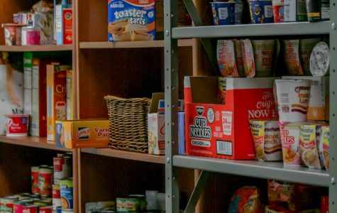 Donations flood AACC;  food pantry overflows