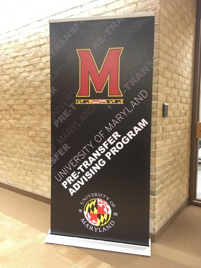 AACC offers advising and special programs for students hoping to transfer to a four-year school like the University of Maryland. Photo by Sarah Sutherland