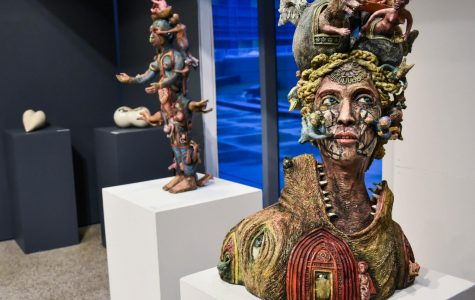 Ceramics show honors challenges of mothers