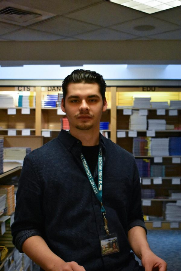Part-time bookstore employee Briston Fernandez receives paid sick leave, thanks to a new law.