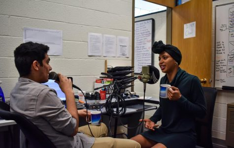 Student reporter starts campus news podcast