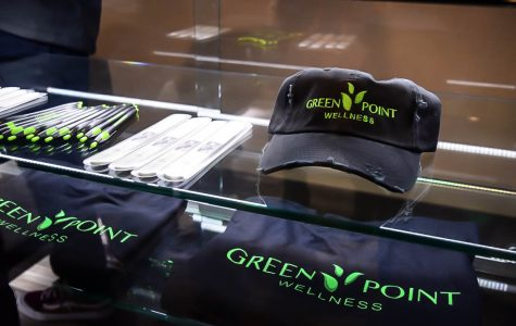 Anne Arundel County's new medical cannabis dispensary, Green Point Wellness, is run by an AACC alumnus. It sells hats, pens and T-shirts, as well as medical cannabis.