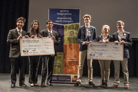 Students compete in business pitch competition