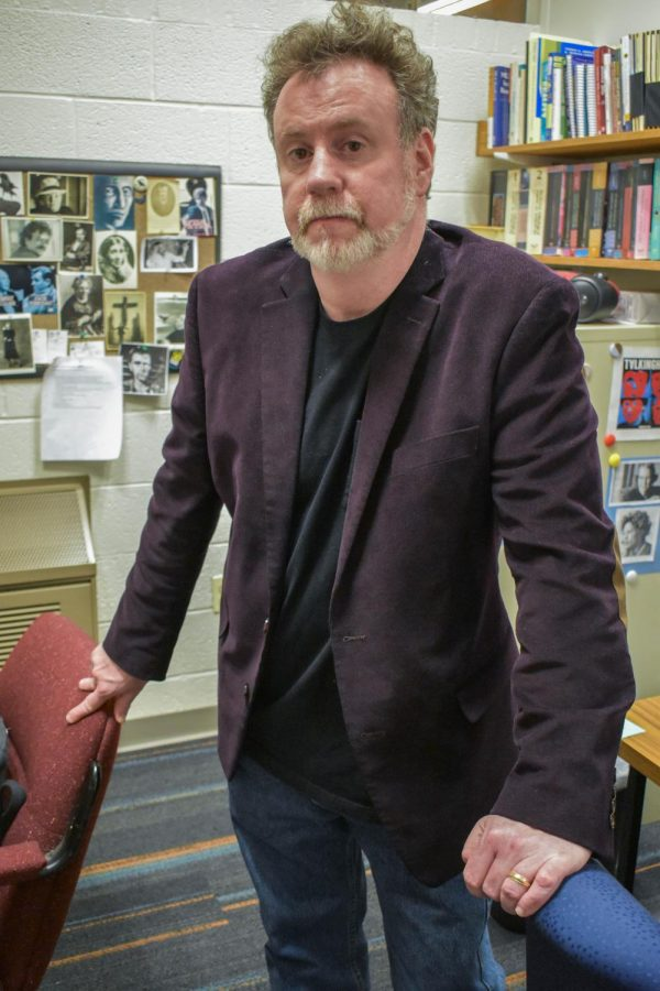 "English professor Brian Riley will teach the upcoming special topics course ""American Nightmares,"" about horror in popular culture."