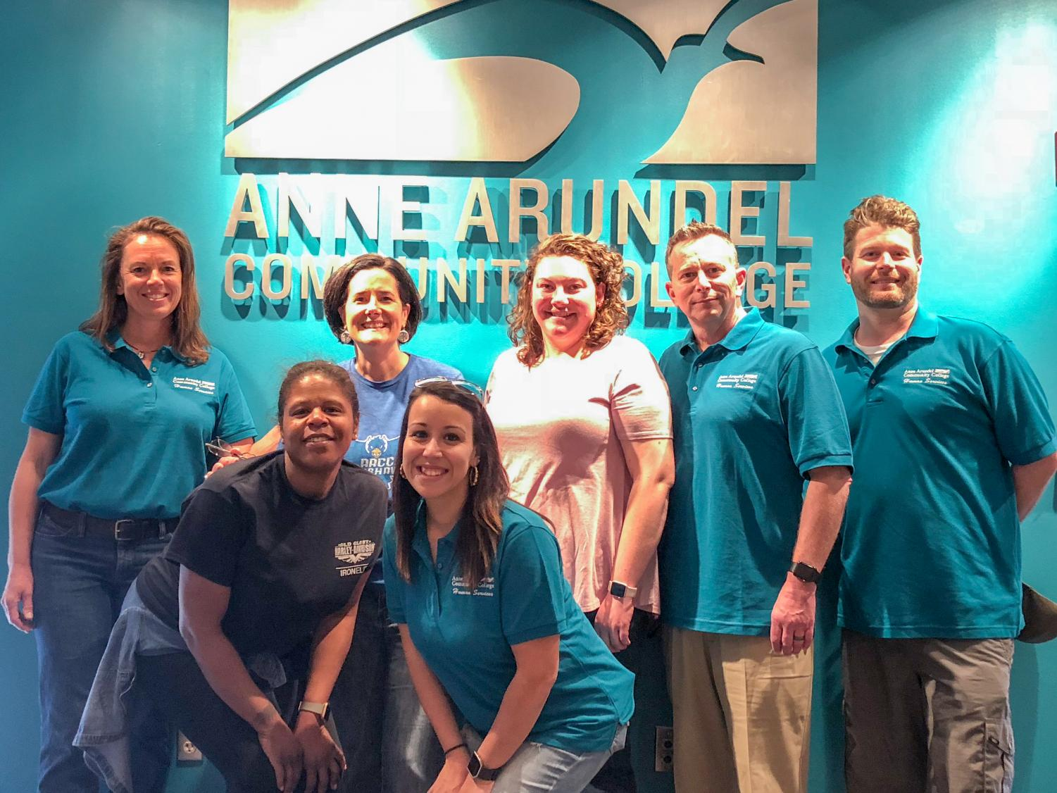 Human services students from AACC volunteered to help the college host the Mid-Atlantic Consortium for Human Services' 2018 conference.