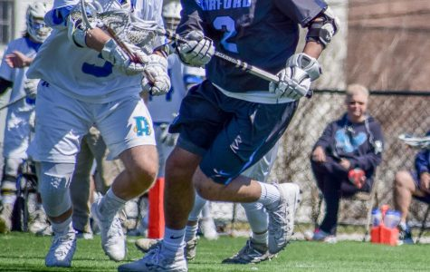 Men's Lacrosse heads into postseason at 8-3