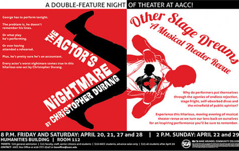 Theatre at AACC pokes fun at show business for spring performance