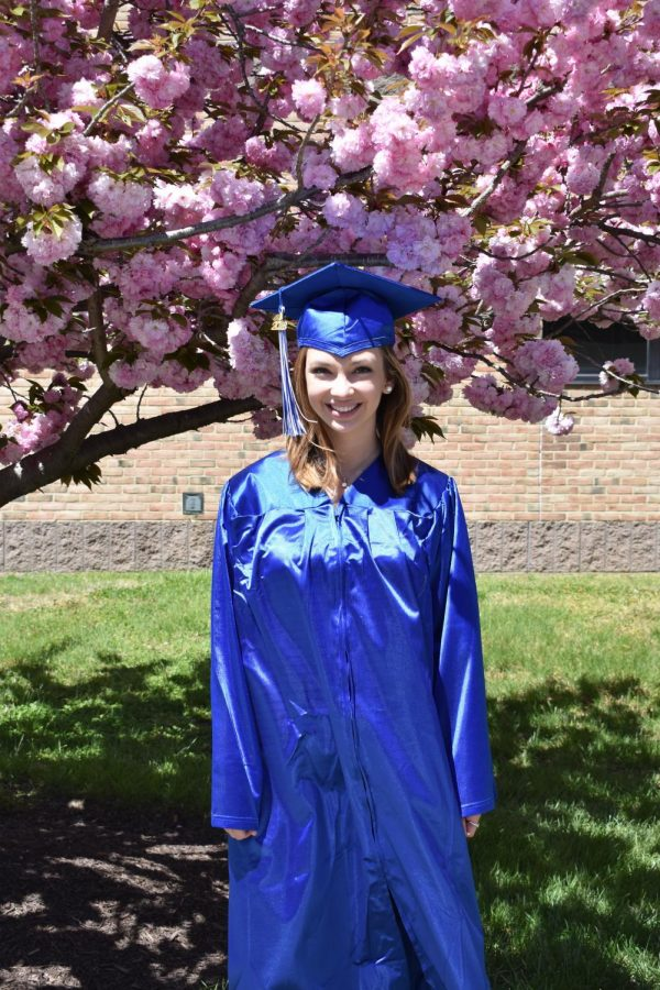 Olivia Callahan will graduate on May 24, along with about 2,000 other students.