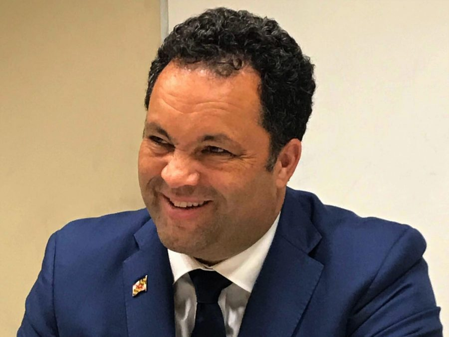 Ben Jealous, above, and Larry Hogan, below, are both running to see who will be Maryland's governor.