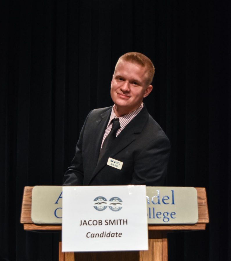 Jacob+Smith%2C+a+first-year+business+management+student%2C+will+be+the+Student+Government+Association%27s+new+president+starting+on+June+1.