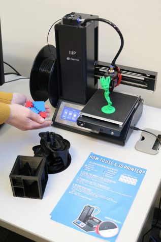 Students can create 3D objects using printers