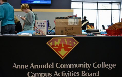 The Campus Activities Board, CAB, hosted their annual Game On event, which is a partnered with an Annapolis local business, Third Eye Games.