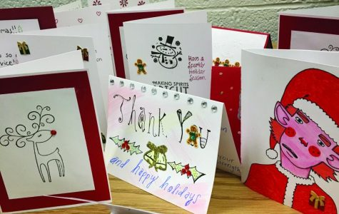Campus Current sends cards, papers to troops