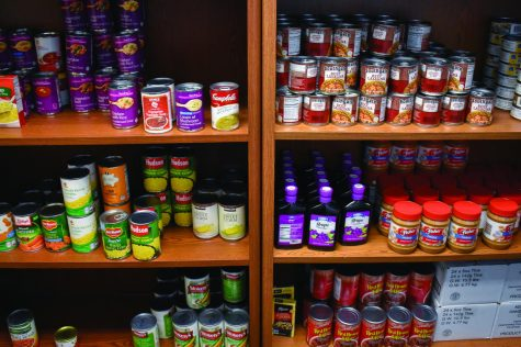 Md. Food Bank to stock campus pantry shelves